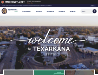 tx-texarkana.civicplus.com screenshot
