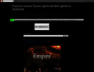 tycoonpcgames.com screenshot