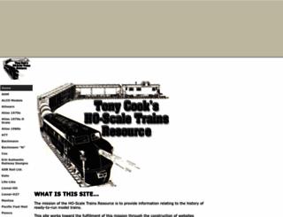 tycotrain.tripod.com screenshot