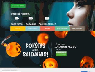tylazudo.lt screenshot