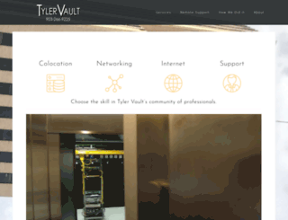 tylervault.com screenshot