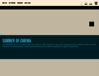 tynesidecinema.co.uk screenshot