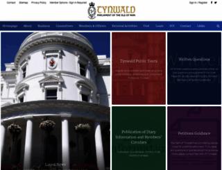 tynwald.org.im screenshot
