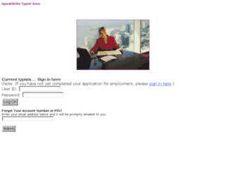 typist.youdictate.com screenshot