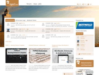 typo3.net screenshot