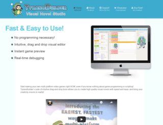 tyranobuilder.com screenshot
