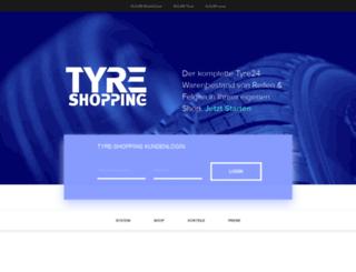 tyre-shopping.at screenshot