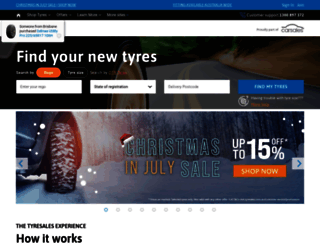 tyresales.com.au screenshot