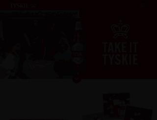 tyskie-pils.de screenshot