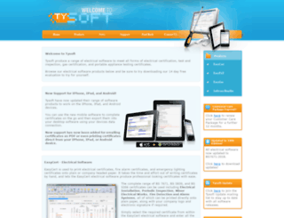 tysoft.co.uk screenshot