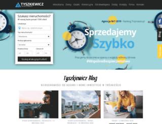 tyszkiewicz.pl screenshot