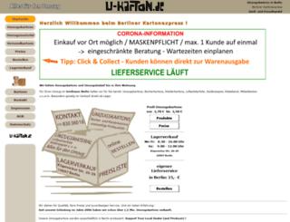 u-karton.de screenshot