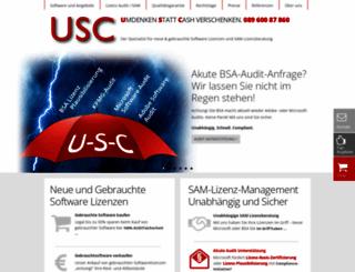 u-s-c.de screenshot