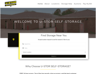 u-stor.com screenshot