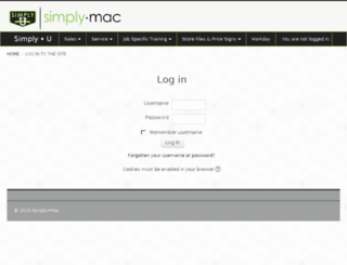 u.simplymac.com screenshot