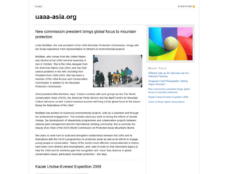 uaaa-asia.org screenshot