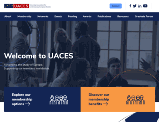 uaces.org screenshot