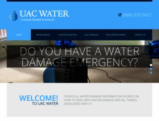 uacwater.com screenshot