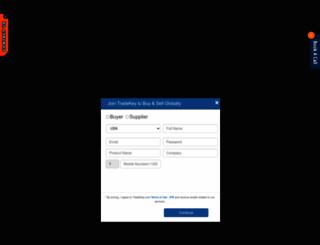 uae.tradekey.com screenshot