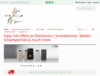 uaebestdeals.ae screenshot