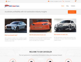 uaeusedcars.biz screenshot