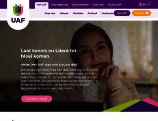 uaf.nl screenshot