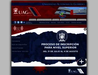 uagro.mx screenshot