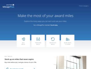 ualmiles.com screenshot