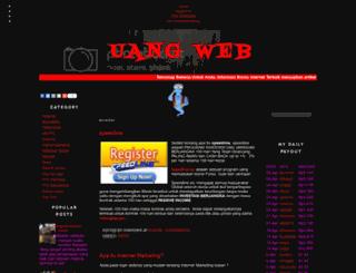 uangweb.blogspot.com screenshot