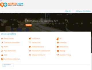 uat.businesszoom.com.au screenshot