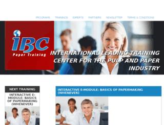 uat.ibcpapertraining.com screenshot