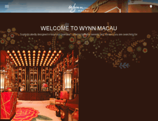uat.wynnmacau.com screenshot