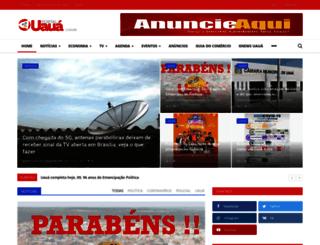uaua.com.br screenshot