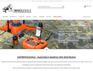 uavwholesale.com.au screenshot