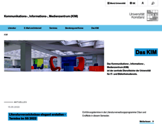 ub.uni-konstanz.de screenshot