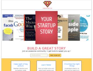 uberstarter.com screenshot