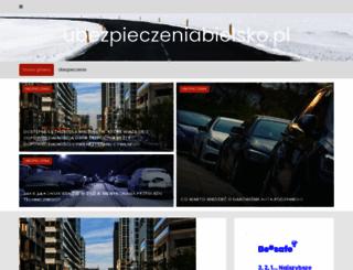 ubezpieczeniabielsko.pl screenshot