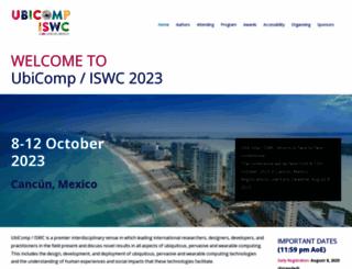 ubicomp.org screenshot