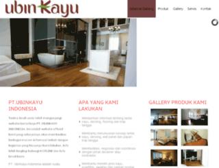 ubinkayu.com screenshot