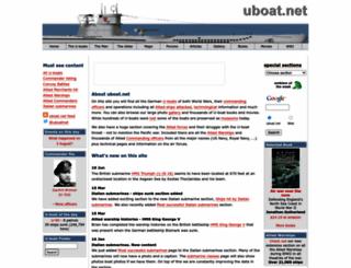 uboat.net screenshot