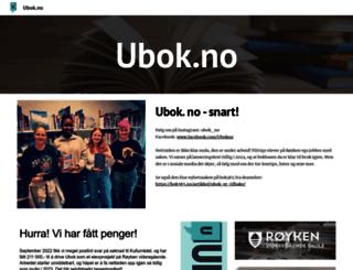 ubok.no screenshot
