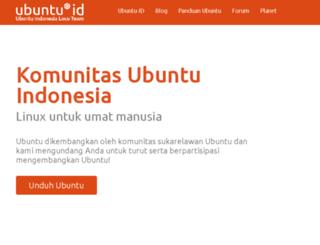 ubuntu-id.org screenshot