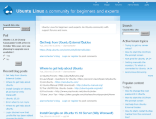 ubuntux.org screenshot
