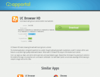 uc-browser-hd.apportal.co screenshot