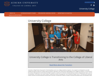 uc.auburn.edu screenshot