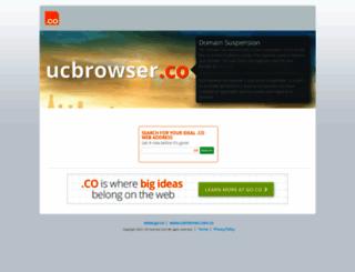 ucbrowser.co screenshot