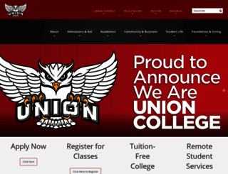 ucc.edu screenshot