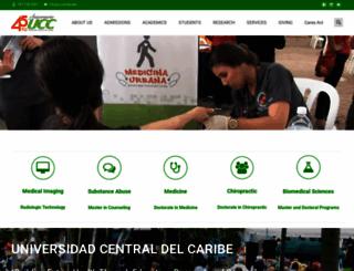 uccaribe.edu screenshot