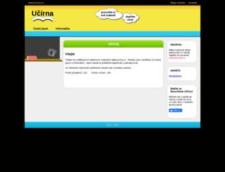 ucirna.cz screenshot