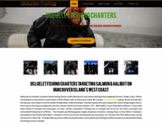 uclueletfishing.com screenshot
